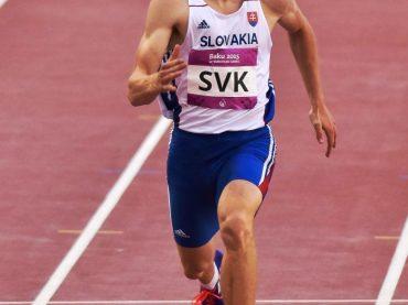 Ján Volko senzačne strieborný na 60 m