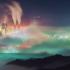 Japonec zachytil unikátny snímok. Oblohu zachvátilo farebné more.