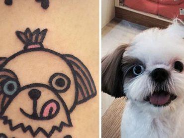 Umelec z Južnej Kórei tvorí nevšedné tetovania domácich maznáčikov!