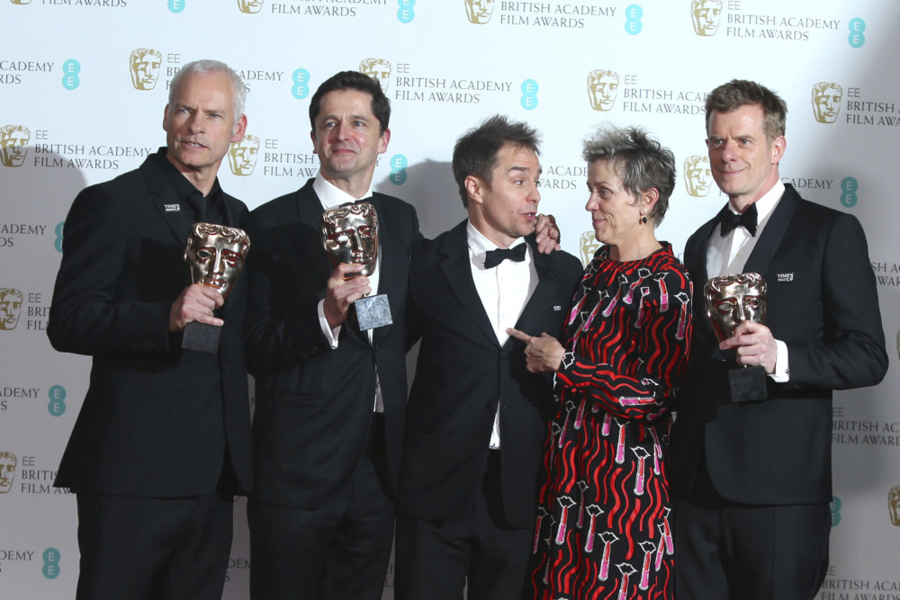 Britské filmové ceny BAFTA ovládol film Tri billboardy kúsok za Ebbingom