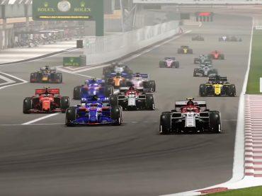 Jazdci F1 sa zúčastnili virtuálneho preteku Race for the World