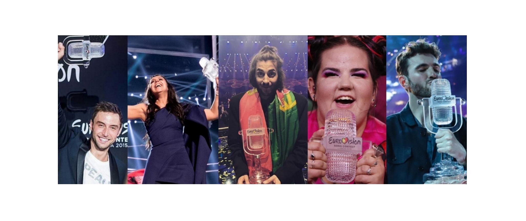 Zaspomínajte si: Toto je posledných 5 víťazov Eurovision Song Contest!