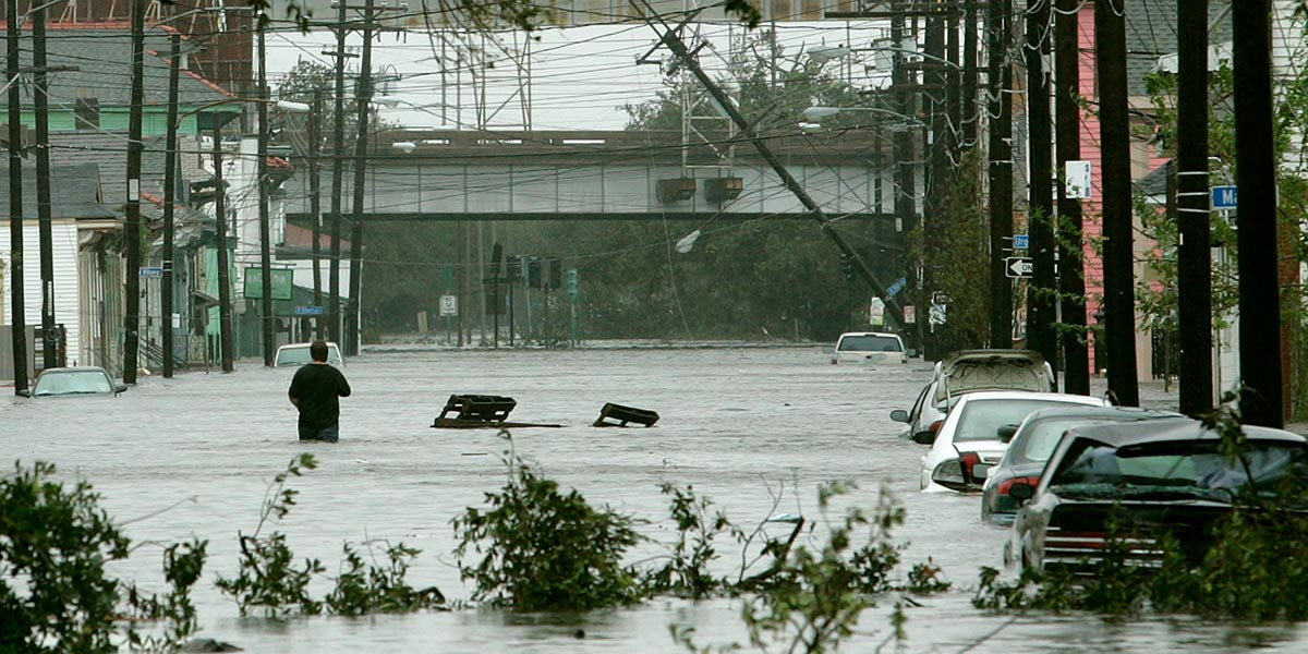 Hurikán Katrina: Katastrofa, ktorá sa zmenila na politickú búrku