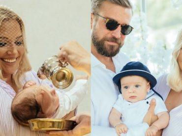 Dominika Cibulková sa rozhodla pokrstiť svojho milovaného synčeka! Na ničom rozhodne nešetrila, keďže luxus si dopriať môže!
