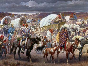 Chodník sĺz: Nútené vysťahovanie 100 000 pôvodných Američanov z ich domovov