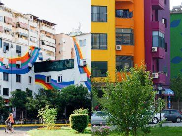 Tirana: Mesto s pochmúrnou históriou dnes hýri farbami