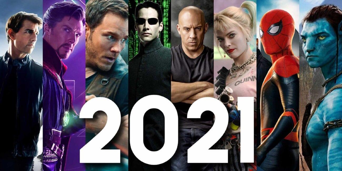 Rok 2021 predstavuje dlho očakávané filmové premiéry! Čo nás čaká!? Trailer! To je nápoveda!