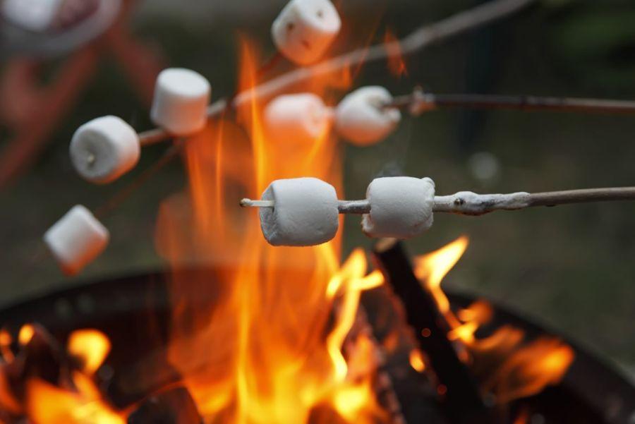 opekanie marshmallow