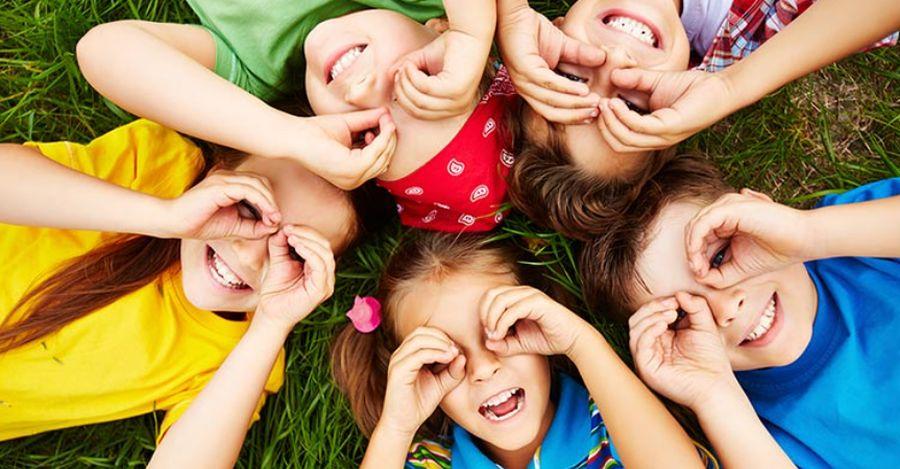 usmievavé deti