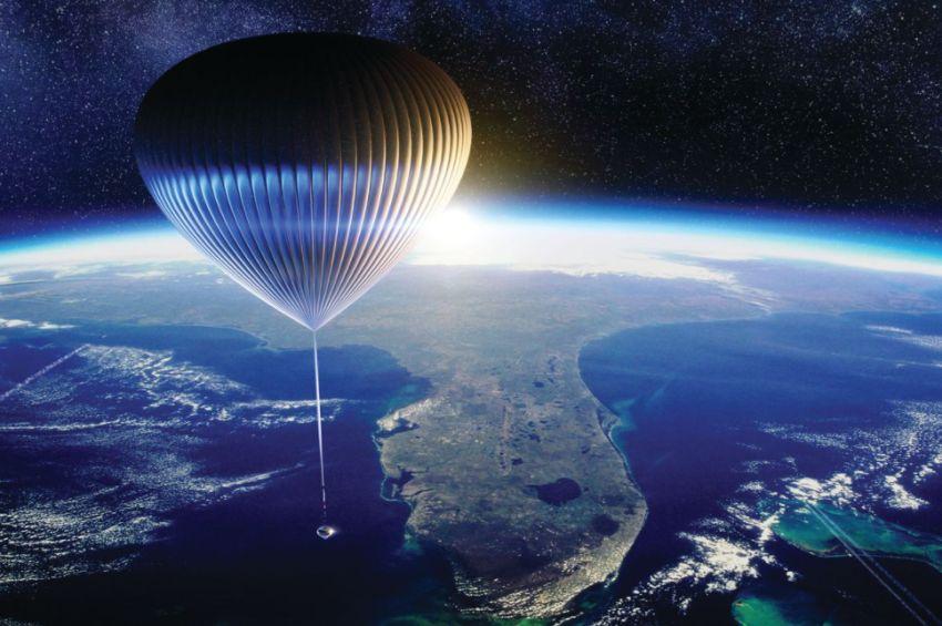vesmírne balóny