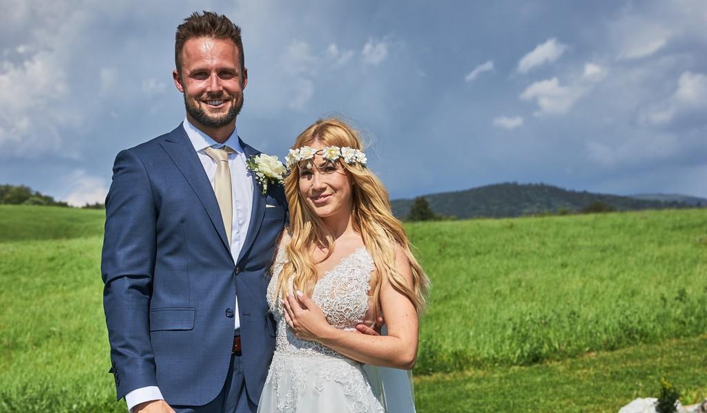 Svadba na prvý pohľad obom zmenila život! Zaľúbenci Tereza a Milan si dokazujú svoje city na každom kroku! Obrad hovorí za všetko!