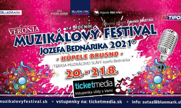 Muzikálový festival opäť rozozvučí dvoranu Kúpeľov Brusno