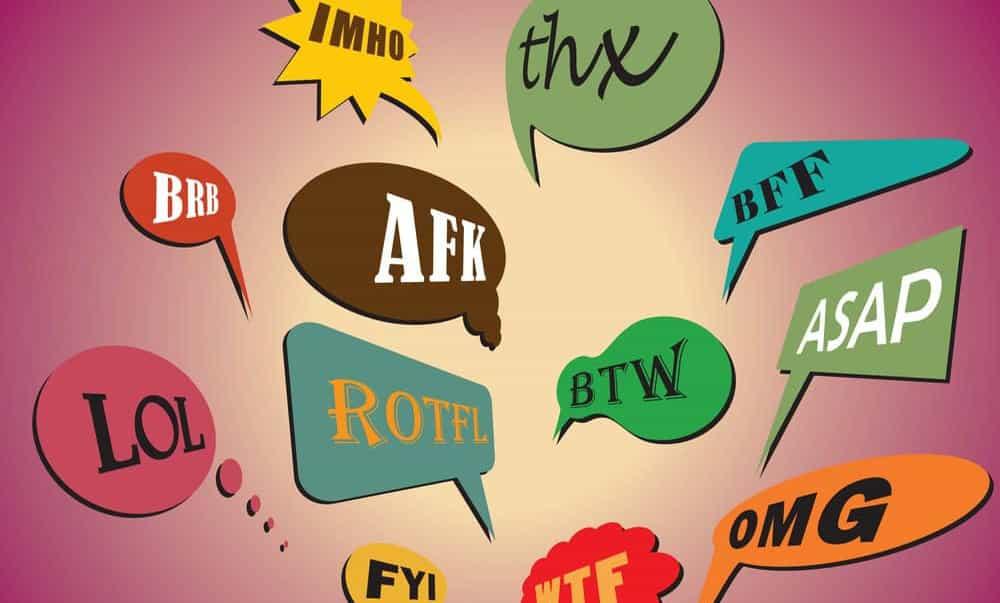 WTF, LOL, ASAP a mnoho ďalších! Anglické skratky, ktoré sa na Slovensku používajú pomerne často! Poznáte však aj ich význam!?