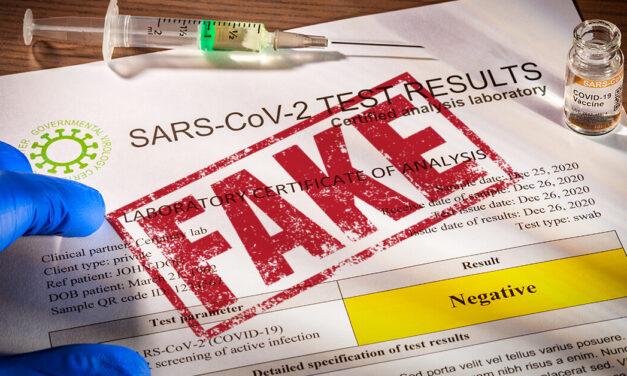Ukrajina: Boj s Covidom aj s falošnými certifikátmi