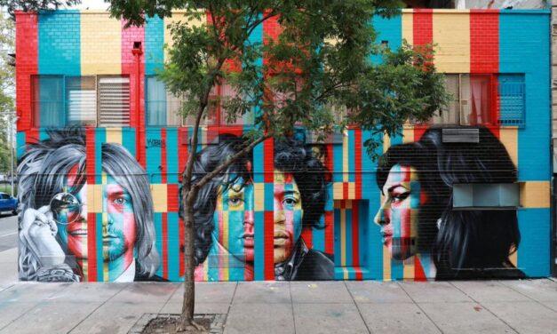 Graffiti znázorňujúce celebrity po smrti: Už nie sú medzi nami, ale na týchto budovách budú žiariť stále!